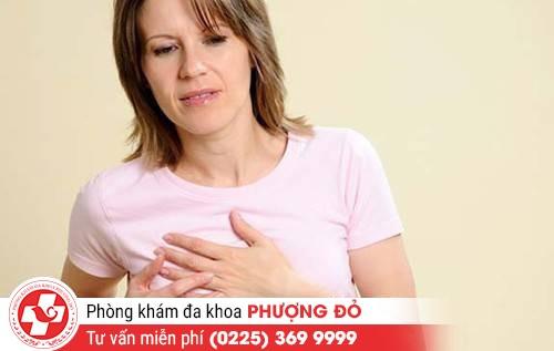 Nguyên nhân gây nên tình trạng đau núm vú