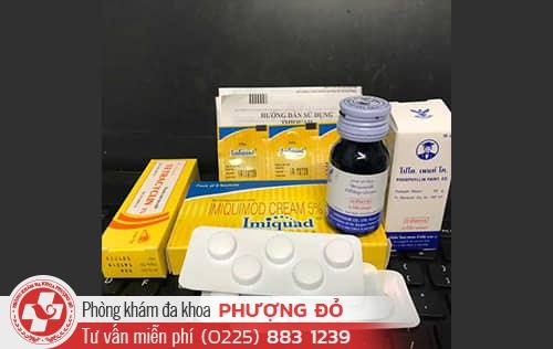 Top 3 loại thuốc kháng sinh chữa sùi mào gà