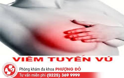 Viêm tuyến vú và những nguy hại do bệnh gây ra